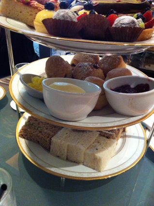 The stand for the Classic High Tea