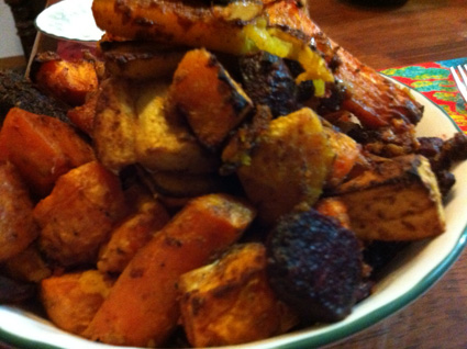 Recipe: Roasted Root Vegetables with Sweet Spices, Tahini, and Maple ...
