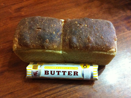 I do like a little bit of butter to my bread.