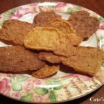Recipe: Gluten-free orange and cardamom wafers