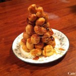 Recipe: Mini and Terribly Inauthentic Croquembouche
