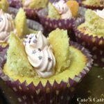 Recipe: Lavender Butterfly Cakes with Blackberry Jam and Whipped Ganache
